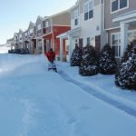 Townhome Sidewalk Clearing