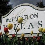 Tulips Neighborhodd Entrance Sign
