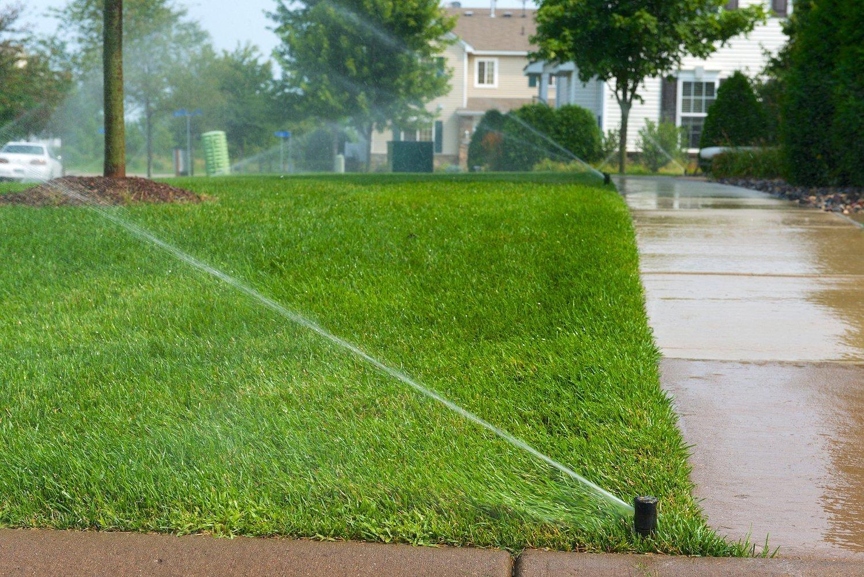 Running Sprinkler System
