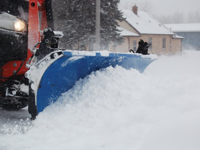 Compact Tractor Plow