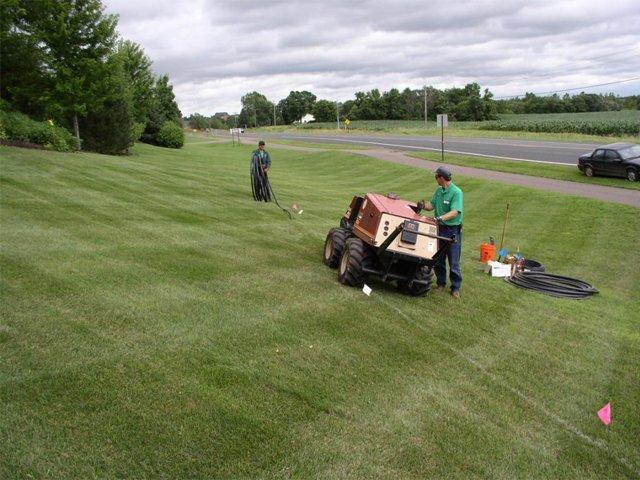 Irrigation Line Installation
