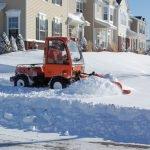 Sidewalk Plow