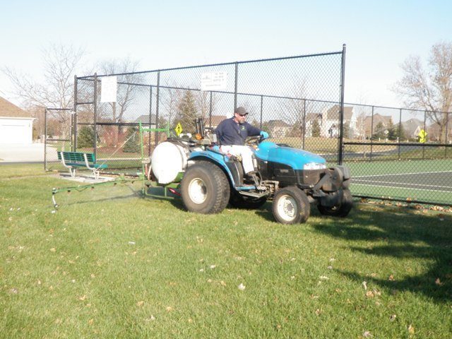 Turf Pesticide Application